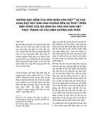 Những đặc điểm của hôn nhân Hàn-Việt và các xung đột nảy sinh ảnh hưởng đến sự phát triển bền vững của gia đình đa văn hóa Hàn-Việt - Thực trạng và các định hướng giải pháp