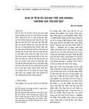 Khu di tích Óc Eo-Ba Thê (An Giang) những giá trị nổi bật