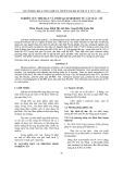 Nghiên cứu trích ly và tinh sạch Mimosin từ cây mắc cỡ