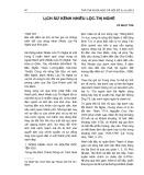 Lịch sử kênh Nhiêu Lộc - Thị Nghè