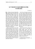 Lev Tolstoi và quan niệm của ông về tôn giáo