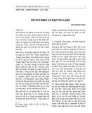 Hồ Chí Minh và đạo Tin Lành