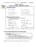 Chuyên đề Ôn thi vào lớp 10 môn Toán - Hoàng Thái Việt