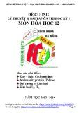 Đề cương Lý thuyết & bài tập ôn thi học kỳ 1 môn Hóa học 12 - Hoàng Thái Việt