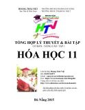 Tổng hợp cơ lý thuyết & bài tập cơ bản - nâng cao Tập 1 Hóa học 11 - Hoàng Thái Việt