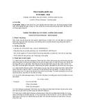 Tiêu chuẩn Quốc gia TCVN 8928:2013