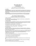 Tiêu chuẩn Quốc gia TCVN 9204:2012
