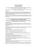 Tiêu chuẩn Quốc gia TCVN 8724:2012
