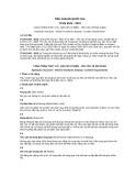Tiêu chuẩn Quốc gia TCVN 9163:2012