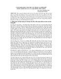 Cơ sở khoa học cho việc xác định cao trình đê trong kiểm soát lũ của hệ thống sông Hồng - NCS.ThS. Lâm Hùng Sơn