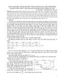 Thuật toán đồng thời hệ phương trình Reynolds hai chiều đứng bằng phương pháp phần tử hữu hạn hai giai đoạn với độ chính xác cao - Lê Văn Nghị