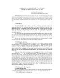 Nghiên cứu vai trò điều tiết của hồ chứa trong hệ thống thoát nước Hà Nội - Nguyễn Song Dũng