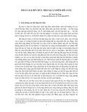 Phân loại hồ chứa theo quan điểm bồi lắng - KS. Lưu Văn Lâm