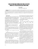 Khảo sát ứng dụng phương pháp bình sai truy hồi trong xử lý số liệu lưới trắc địa công trình - Trần Khánh