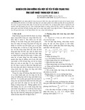 Nghiên cứu ảnh hưởng của một số yếu tố đến trạng thái ứng suất nhiệt trong đập Sê San 3