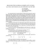 Phương pháp bình sai lưới khống chế cơ sở trong quan trắc chuyển dịch ngang công trình thuỷ lợi, thuỷ điện