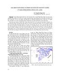 Xác định khả năng và đánh giá mức độ hạn khí tượng ở vùng đồng bằng sông Cửu Long - TS. Nguyễn Đăng Tính