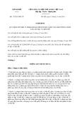 Nghị định số: 173/2013/NĐ-CP