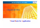 Bài giảng Chuyên đề VBA (Visual Basic for Application) - Lương Trần Hy Hiến