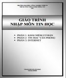 Giáo trình Nhập môn tin học: Phần 2