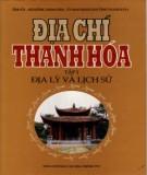Ebook Địa chí Thanh Hóa (Tập 1: Địa lý và Lịch sử): Phần 2