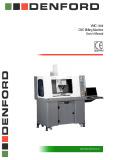 VMC 1300 CNC milling machine user's manual