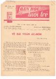 Toán học và tuổi trẻ Số 108 (3/1979)