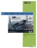 Giáo trình SAP 2000 V14.0.0