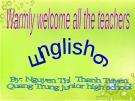 English 6: Unit 11 - Our greener world