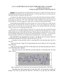 Lũ và vấn đề tính toán lũ quét IX/2002 trên sông Ngàn Phố - TS. Hoàng Ngọc Quang