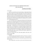 Đánh giá chuyển dịch công trình theo phương pháp phân tích thống kê - ThS. Hoàng Xuân Thành