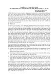 Nghiên cứu cơ sở điều hành hệ thống hồ chứa thượng nguồn sông Hồng chứa lũ hạ du - NCS.ThS. Lâm Hùng Sơn