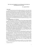 Thực trạng cung, cầu phân bón vô cơ của Việt Nam trong thời gian qua và giải pháp phát triển thị trường - ThS. Nguyễn Thế Hoà
