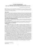 Ứng dụng mô hình Mike11 đánh giá việc thực hiện kế hoạch lấy nước trên trục sông đồng tràng, hệ thống thủy lợi Tứ Lộc, Hải Dương