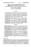 Nghiên cứu xử lý niken, kẽm, đồng và chì trong môi trường nitrat bằng vỏ ngao