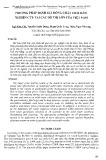 Phương pháp đánh giá dòng chất thải rắn: Nghiên cứu tại các đô thị lớn của Việt Nam