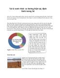 Xử lý nước thải: xu hướng hiện tại, định hình tương lai