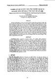 Nghiên cứu xử lý nước thải công nghiệp thuộc da bằng hệ thống bùn hoạt tính theo chu kỳ (SBR)