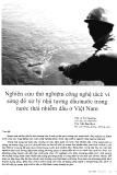 Nghiên cứu thử nghiệm công nghệ tách vi sóng để xử lý nhũ tương dầu/nước trong nước thải nhiễm dầu ở Việt Nam