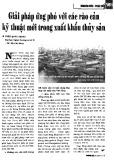 Giải pháp ứng phó với các rào cản kỹ thuật mới trong xuất khẩu thủy sản