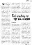 Triển vọng thương mại Việt Nam - Hàn Quốc