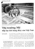 Thị trường Mỹ tiếp tục hút hàng thủy sản Việt Nam