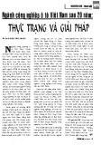 Ngành công nghiệp ô tô Việt Nam sau 20 năm: Thực trạng và Giải pháp