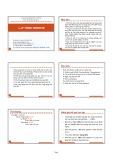 Bài giảng Lập trình Website - Dương Thành Phết