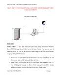 Bài giảng Thực hành chương 3: Tạo User Account & cấu hình Home Folder Cho User Account