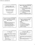 Bài giảng Hệ tương tác người máy: Phần 2 - Lương Mạnh Bá