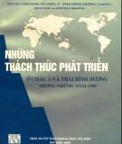 Ebook Những thách thức phát triển ở châu Á và Thái Bình Dương trong những năm 1990: Phần 2