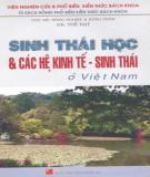 Sinh thái ở Việt Nam - Sinh thái học và các hệ kinh tế: Phần 1