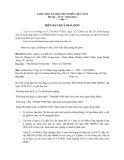 Mẫu Biên bản huỷ hoá đơn