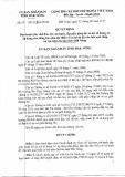 Quyết định Số: 12/2015/QĐ-UBND tỉnh Đắk Nông